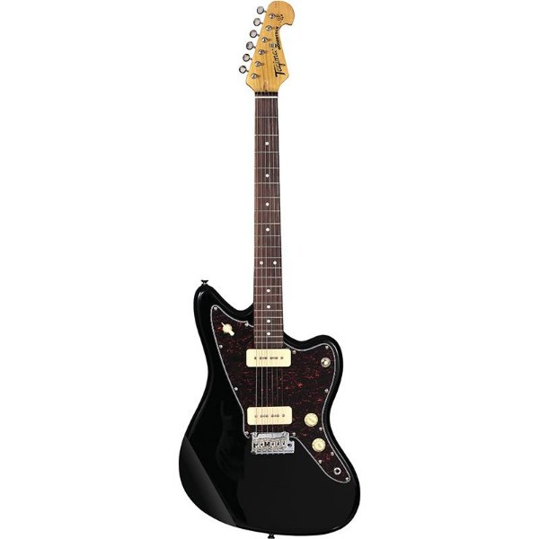 Guitarra Tagima Woodstock Tw61 P90 Jazzmaster Preta