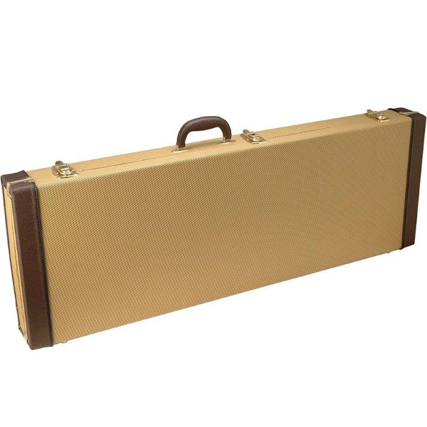 Hard Case Para Guitarra Vinil Tweed On Stage GCE6000T