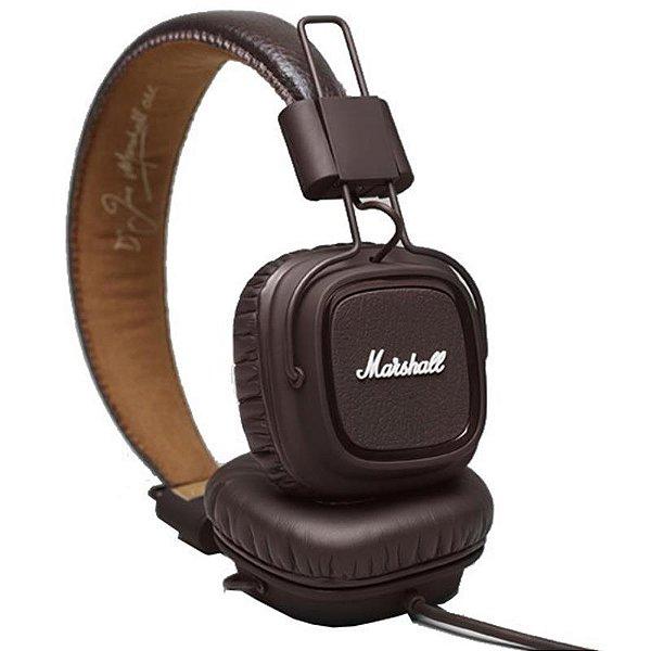 Headphone Marshall Major Marrom On Ear