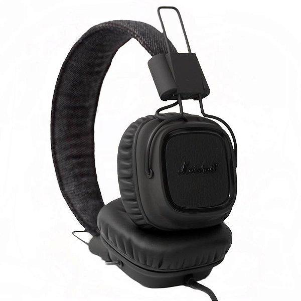 Headphone Marshall Major Pitch Black On Ear