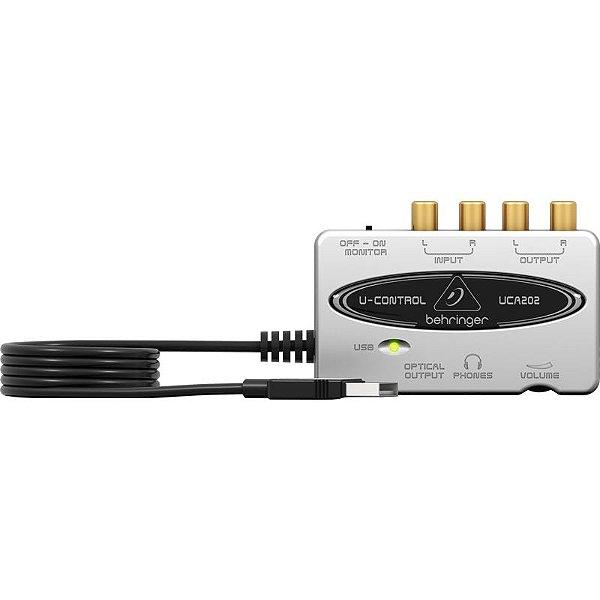 Interface De Áudio Behringer Uca202 U-Control