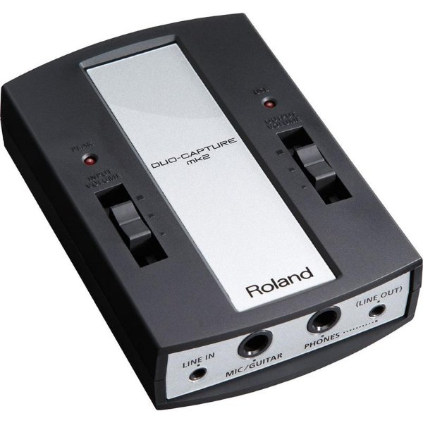 Interface De Audio Usb Roland Ua11 Mk2 Duo Capture Mk2