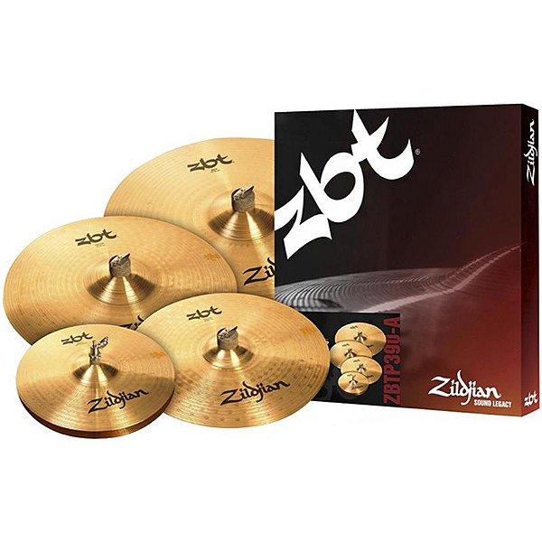 "Kit De Pratos Zildjian Zbt Five Zbtp390-A 14"" 16"" 18"" 20"""