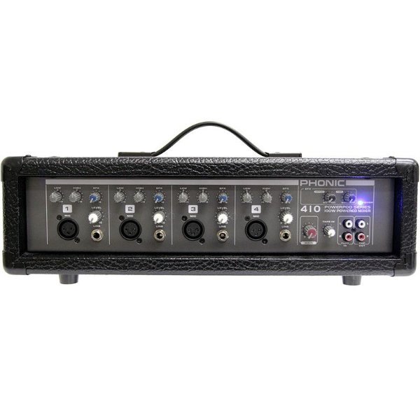 Mesa De Som Amplificada Phonic Powerpod 410