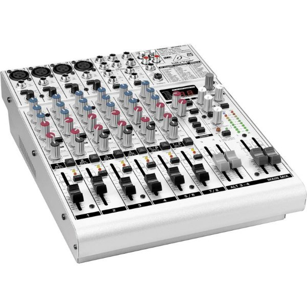 Mesa de som Behringer Eurorack UB1204 FX Pro Mixer
