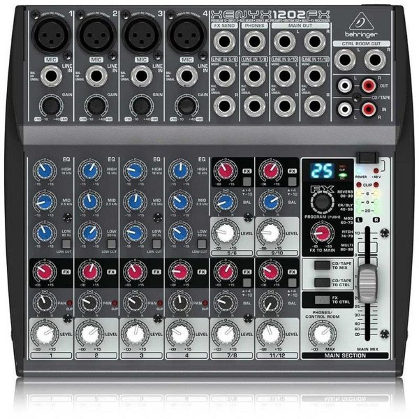 Mesa De Som Behringer Xenyx 1202fx Mixer