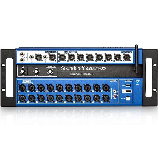 SOUNDCRAFT UI24R MESA DE SOM DIGITAL WIRELESS USB 24 CANAIS