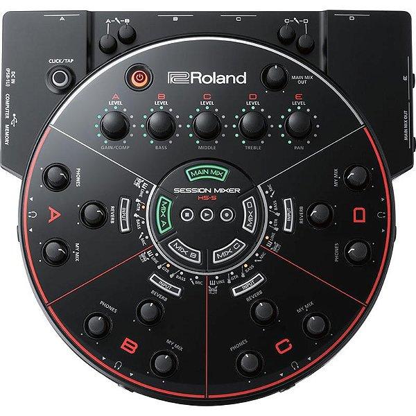 Mesa De Som Roland Hs-5 Para Ensaios E Gravações Super Lançamento!