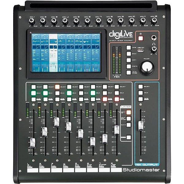 Mesa Digital Studiomaster Digilive 16 Canais