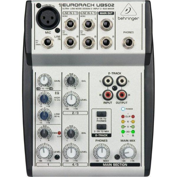 Mesa Eurorack Behringer UB 502 Mixer