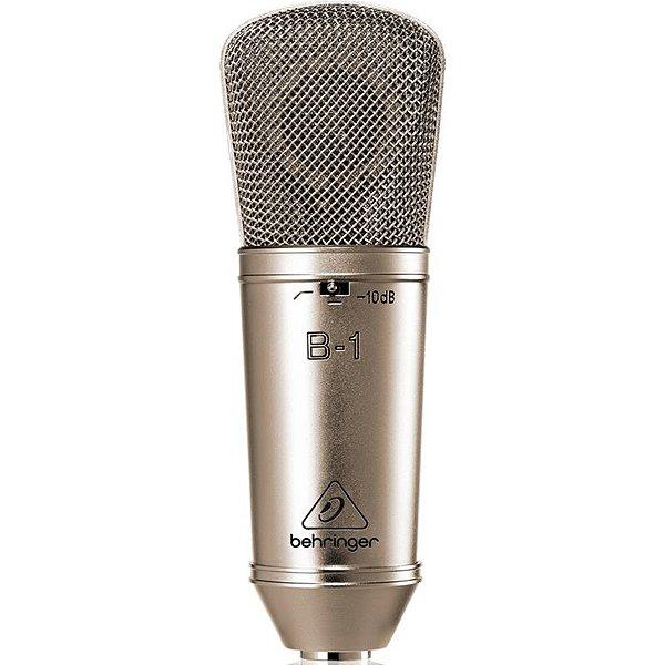 Microfone Condensador Behringer B-1 Com Case