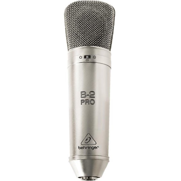 Microfone Condensador De Duplo Diafragma Behringer B-2 Pro Com Case