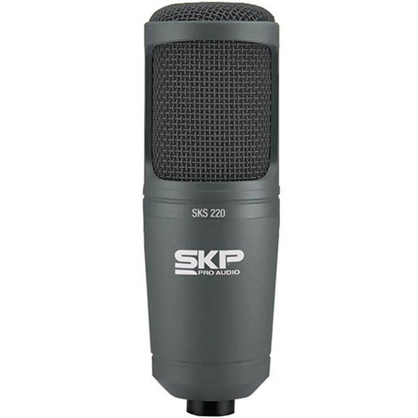 Microfone Condensador Para Estúdio Skp Sks220