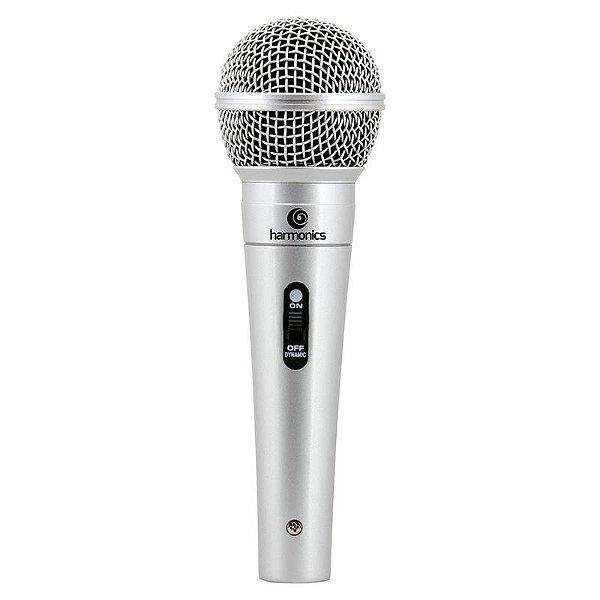 Microfone Harmonics Mdc 201 Supercardióide Cabo 4,5m