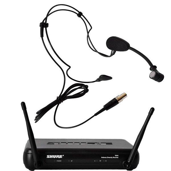 Microfone Shure Svx14br Pga31 Sem Fio Headset