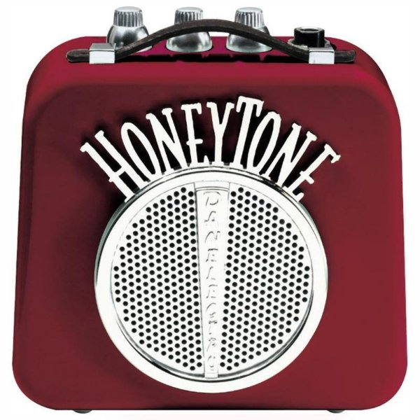 Mini Amplificador Para Guitarra Danelectro Honey Tone N10 Vinho