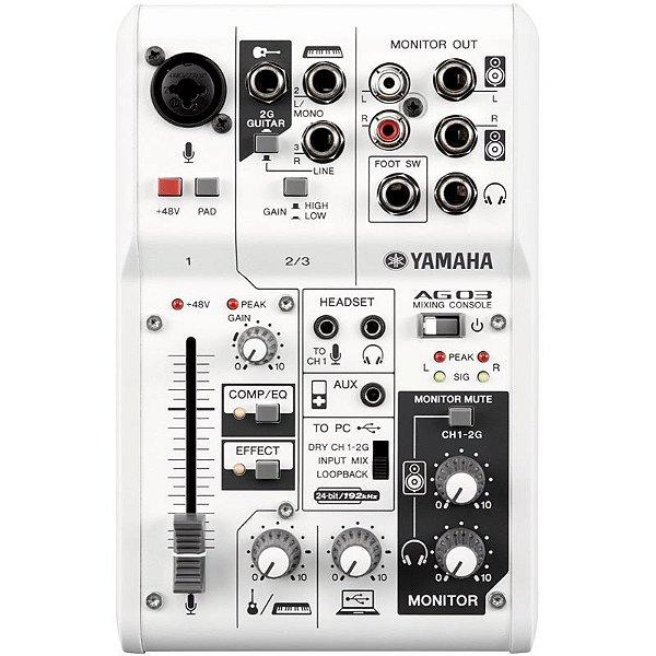 Mixer E Interface Yamaha Ag03 Usb