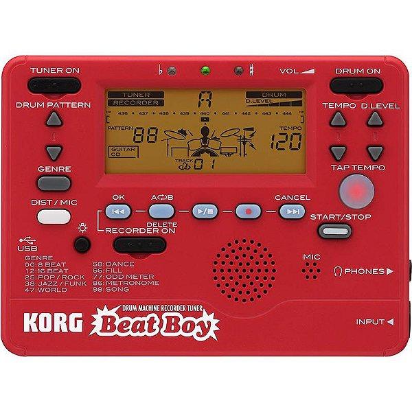 Módulo De Bateria Gravador Afinador Korg Beat Boy