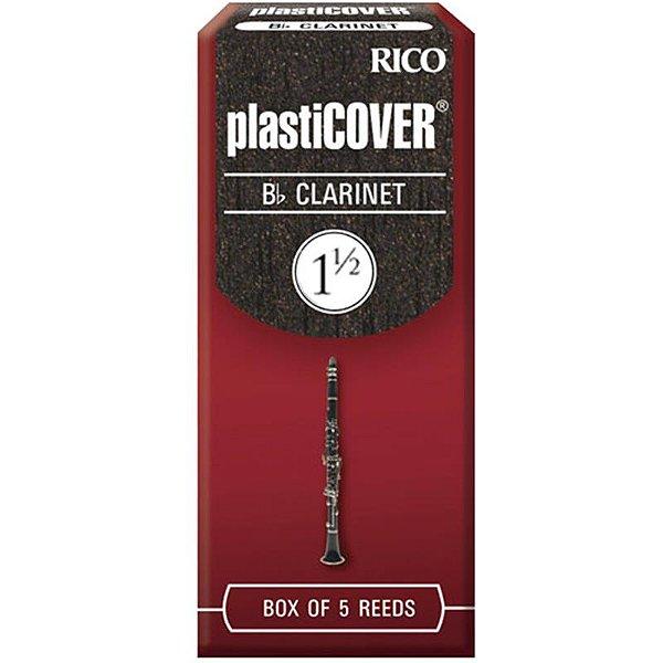 Palheta Plasticover Clarinete Bb 1.5 Rrp05bcl150 C/ 5 Unidades