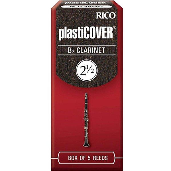 Palheta Plasticover Clarinete Bb 2.5 Rico Rrp05bcl250 C/ 5 Unidades