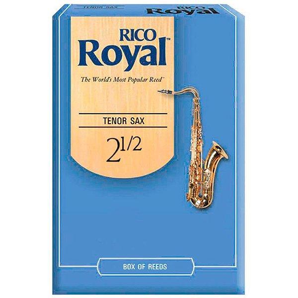 Palheta Rico Royal Rkb1225 Sax Tenor 2.5 C/ 12 Unidades