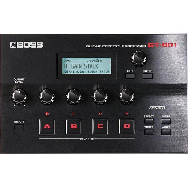 Pedaleira Boss Multiefeitos Gt001 Processor de Efeitos Para Guitarra