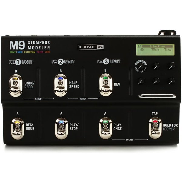 Pedaleira Modeladora De Efeitos Line6 M9 Stomp Box