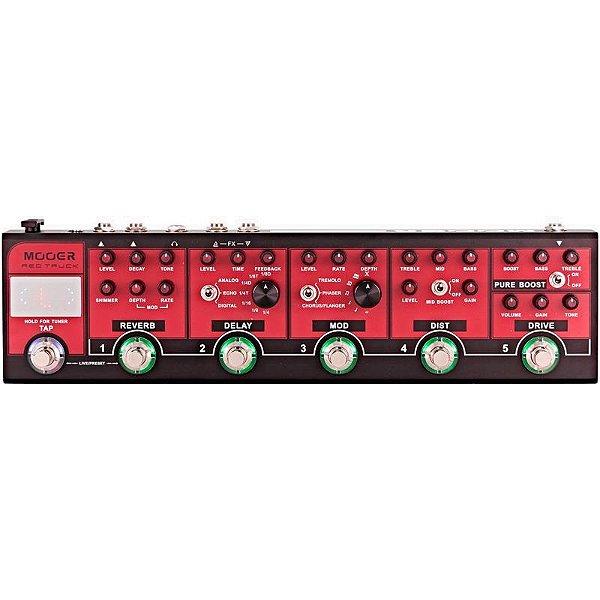 Pedaleira Para Guitarra Mooer Red Truck Cpt1