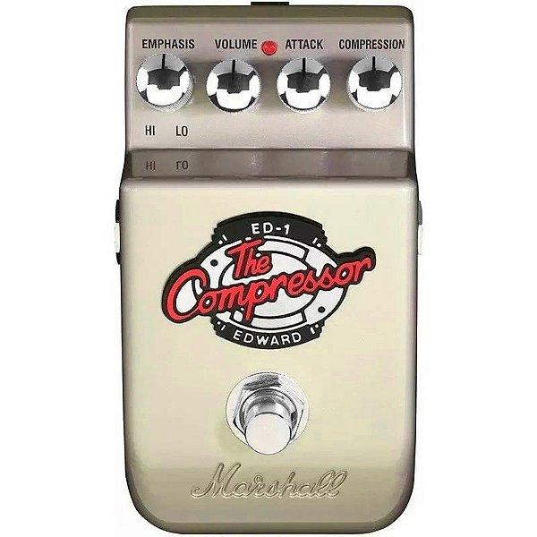 """Pedal Para Guitarra Marshall Ed-1 """"Edward The Compressor"""""""