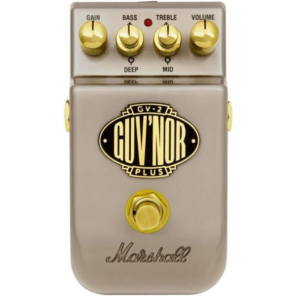 Pedal Para Guitarra Marshall GV-2 Guv'nor Plus Overdrive