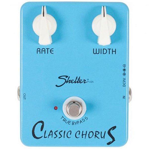 Pedal Para Guitarra Shelter Classic Chorus Scc