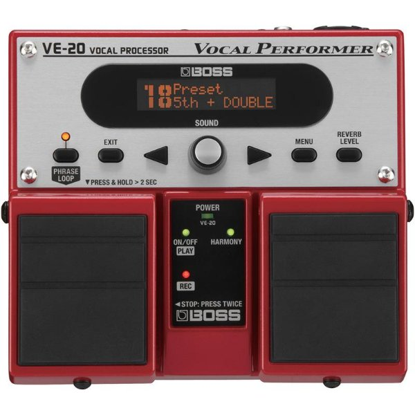 Pedal Para Voz Boss Ve20 Vocal Performer