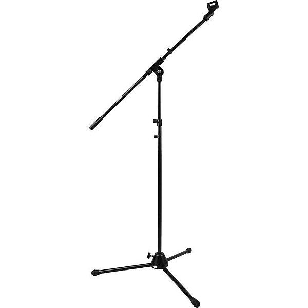Pedestal Girafa Para Microfone Custom Sound Cms-10 Bk