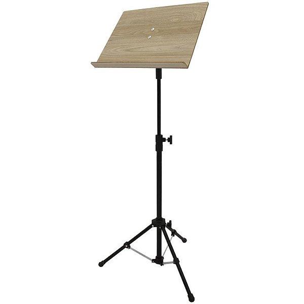 Pedestal Para Partitura Maestro Visão Musical Ppm Bk