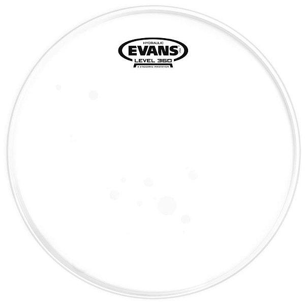 "Pele Hidráulica Para Surdo 14"" Evans Hydraulic Glass Tt14hg Transparente"