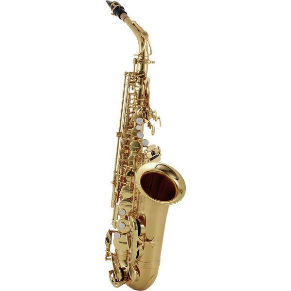 Saxofone Alto Jupiter Jas700q Gold Lacquer Eb Com Case