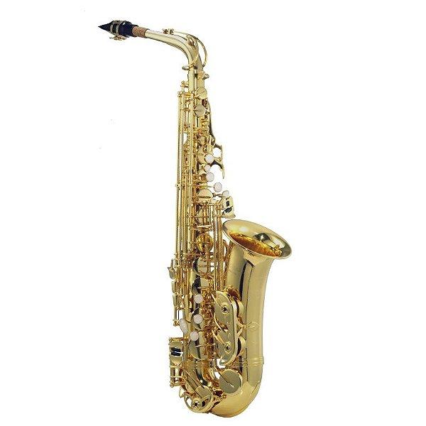 Saxofone Alto Michael Laqueado Wasm35 Em Eb C/ Case