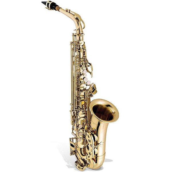 Saxofone Alto Vogga Vsas701 Laqueado Com Case Térmico