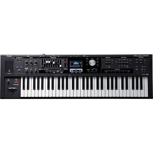 Teclado Orgão Sintetizador Roland Vr09 V-Combo Com Estante De Partitura