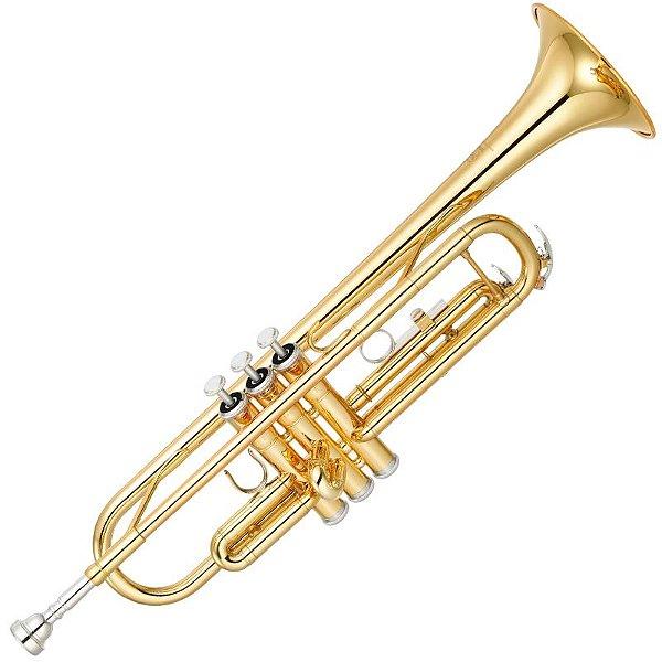 Trompete Yamaha Ytr3335Cn Dourado Bb