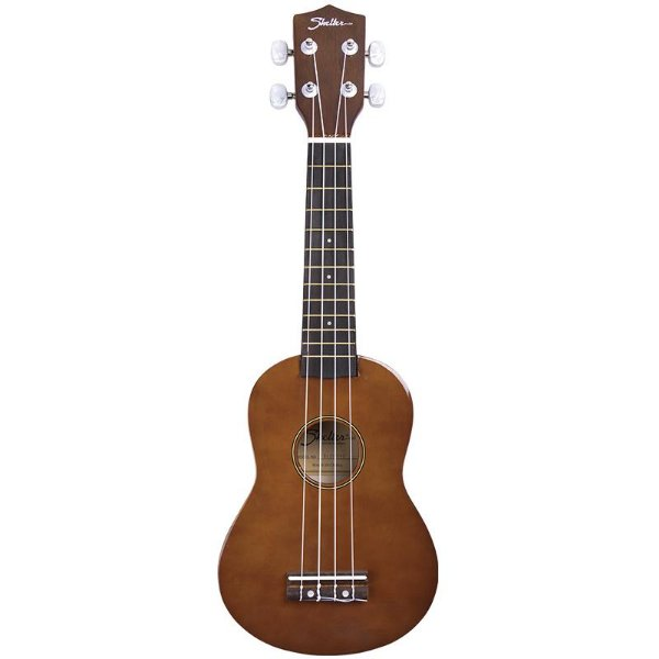 Ukulele Soprano Shelter 21 Basswood Ukbw Bnb Natural Com Bag