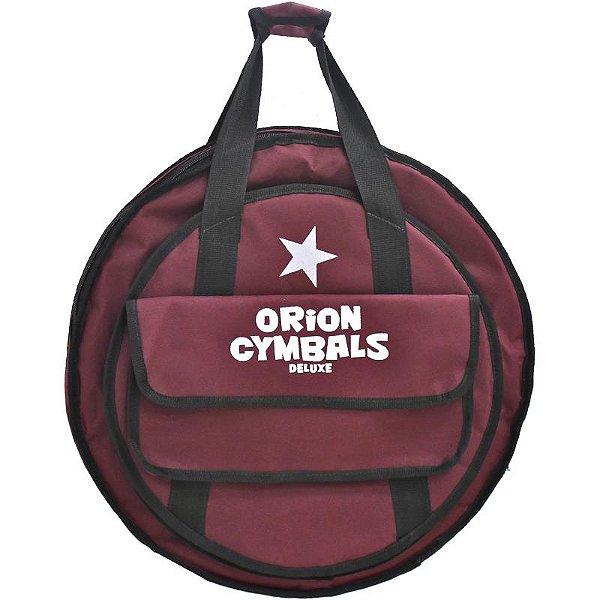 Bag Para Pratos Orion Deluxe Com Porta Baqueta Bp03