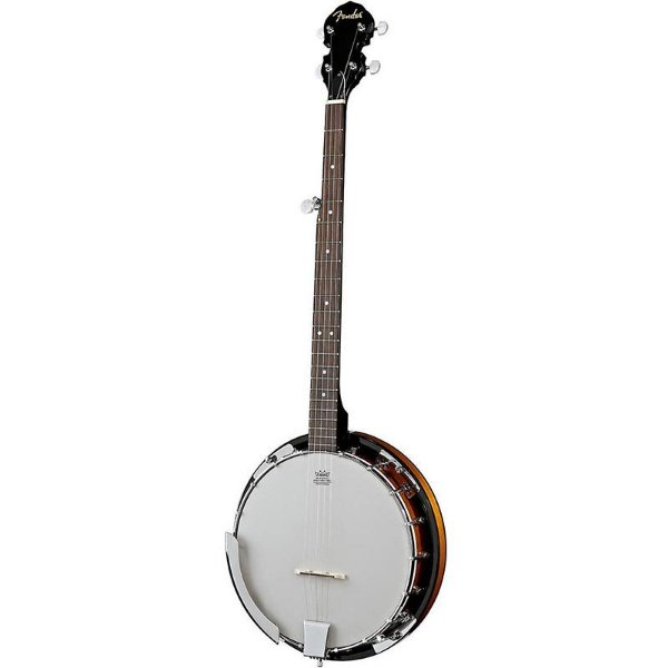 Banjo Acústico Fender Fb-300 Banjo Pack Natural