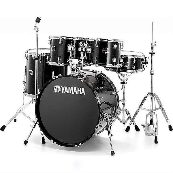 Bateria Acústica Yamaha Gigmaker Black Glitter