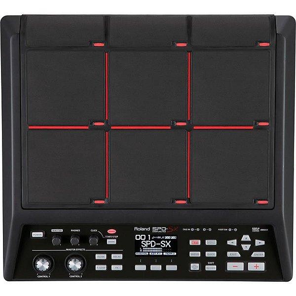 Bateria Eletrônica Roland Spd Sx Sampling Percussão Digital