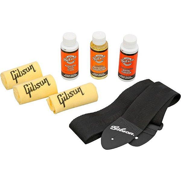 Kit De Limpeza Gibson Guitar Care Kit