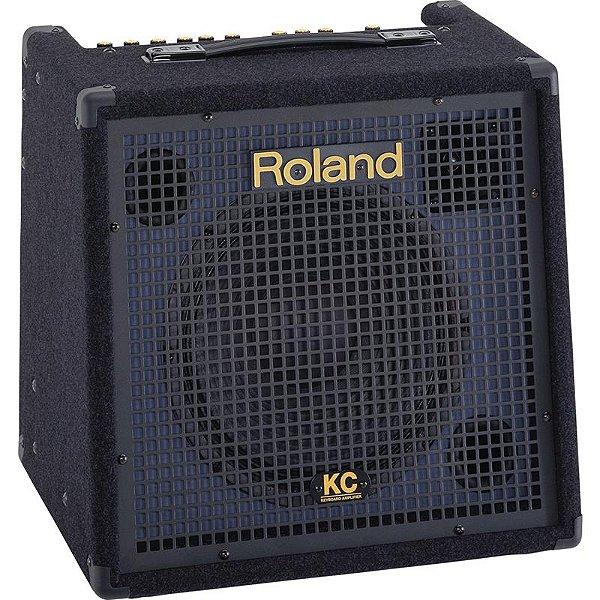 Caixa Amplificada Roland Kc-350 Com 4 Canais
