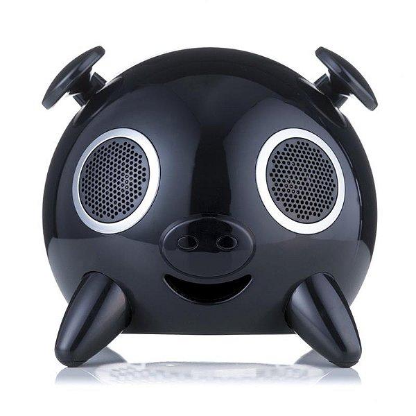 Caixa De Som iSpeaker Pig EIP101 Ello Bivolt USB SD 23W