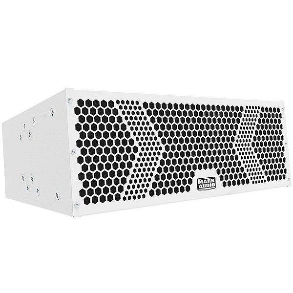 Caixa line Array Ativo 500w Mark Audio Vmk6 Branca
