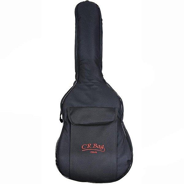Capa Para Violão Cr Bag Formato Extra luxo